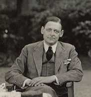 T.S. Eliot in 1934